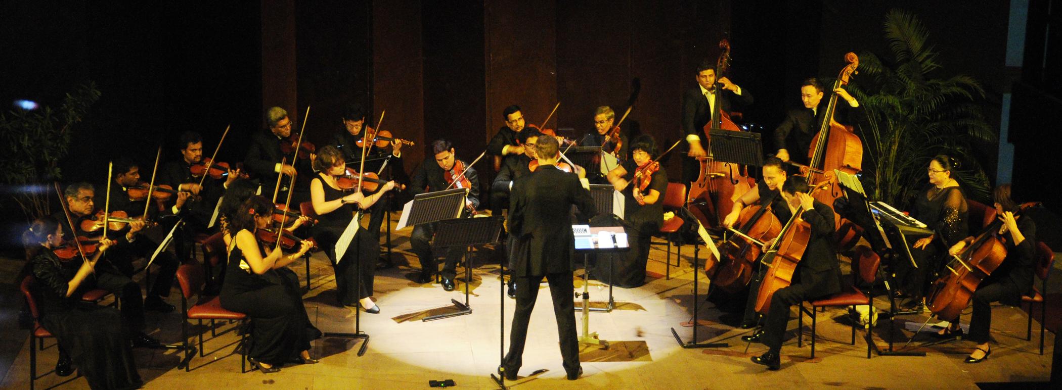 SOI Chamber Orchestra © NCPA Mumbai